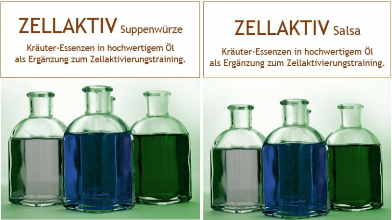 Zellaktiv Suppenwürze & Salsa Kombi Pack